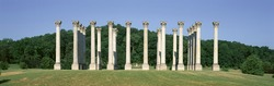 The first Capitol Columns of the United States at the National Arboretum, Washington D.C.