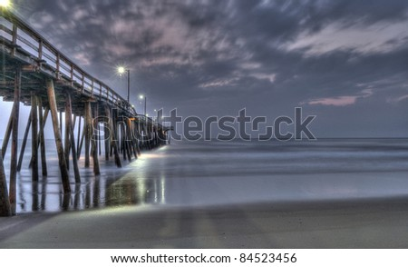 the fishing pier at Virginia Beach