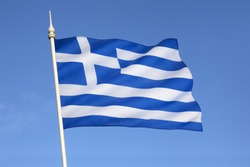 The flag of Greece was officially adopted by the First National Assembly at Epidaurus on 13 January 1822.
