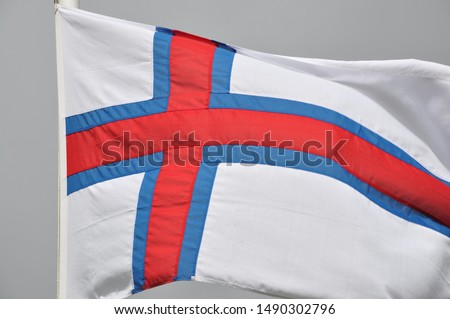 The flag of the Faroe Islands #1490302796