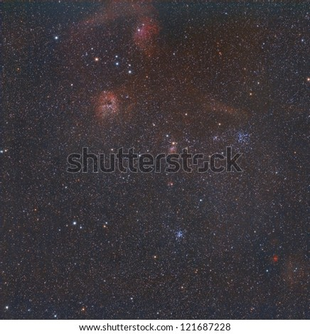The Flaming Star Region of Auriga