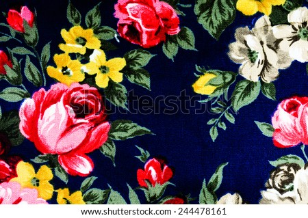 The floral fabric Abstract, may use as background