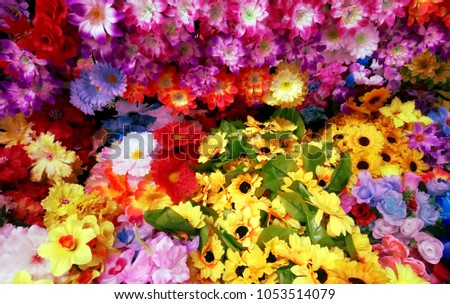 The floral garden/ the floral background/ spring floral #1053514079