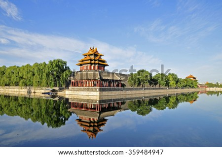 Stock Photo The Forbidden City in Beijing, China