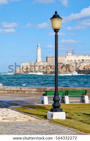 the fortress and lighthouse of...