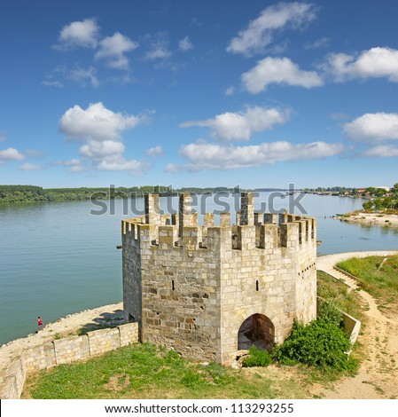 The fortress in the city of Smederevo on Danube was built betwen 1428 and 1430. It is the grandest military monument in Serbia