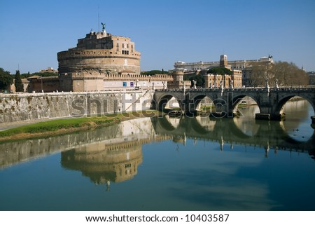 The fortress of the popes near the Vatican