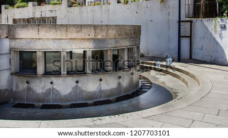 The Fountain and Chapel of St. John the Evangelist in Luso (Fonte e Capela de São João Evangelista em Luso) is popular for its mineral water fountain. Stock fotó ©