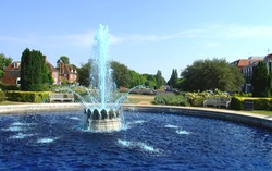 The Fountain & Gardens in Parkway,Welwyn Garden City