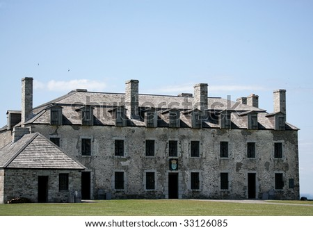 The French Castle at Fort Niagara.
