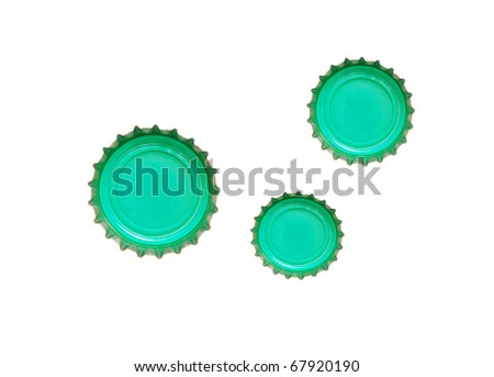 the friendly green drinking caps