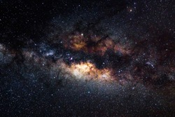 The galactic center of the milkyway galaxy