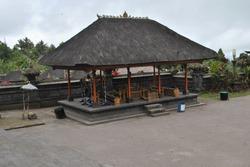 The gamelan gong house in Besakih temple