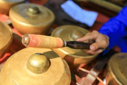 The Gamelan music of Indonesia. Gamelan, also spelled gamelang or gamelin, the indigenous orchestra type of the islands of Java and Bali, in Indonesia