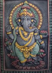 the Ganesh Statue Radiates Prestige