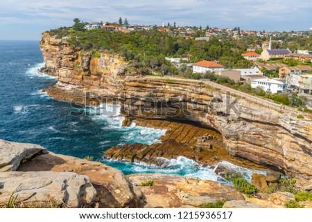 The Gap in Watsons Bay Sydney Australia