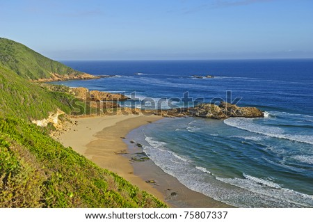 The Garden Route in South Africa is a very beautiful place - stock photo