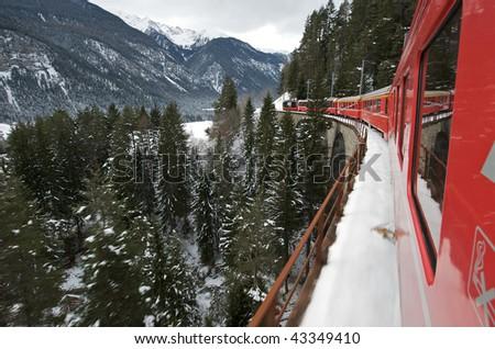 The Glacier Express