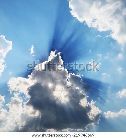 The Glitter of Sun on Sky.