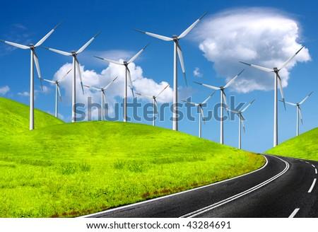 The global wind energy