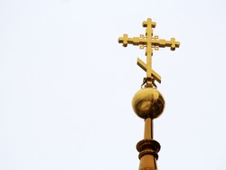 The Golden dome and the cross, Christianity