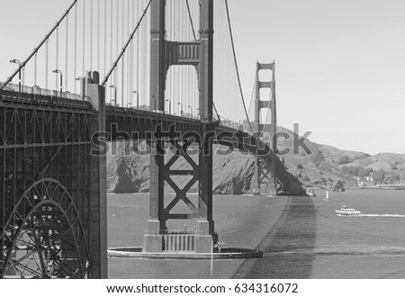 the golden gate bridge  an...
