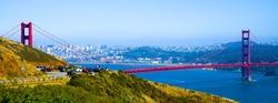 The Golden Gate Bridge, San Fran California