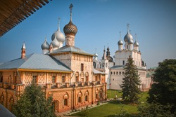 The Golden Ring of Russia, the ancient city of Rostov the Great,