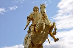 The Goldener Reiter statue, Dresden, Saxony