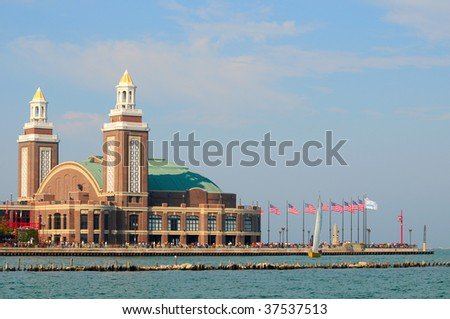 navy pier. outdoor