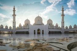The Grand Sheikh Zayed Mosque, Abu Dhabi, U.A.E