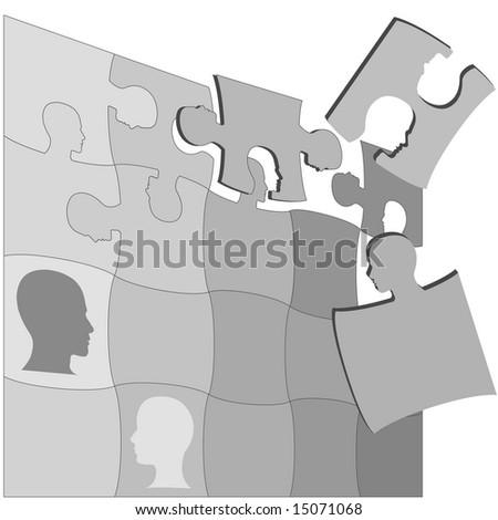 people puzzle essay