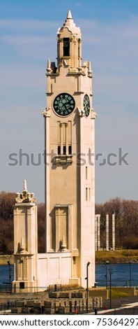 The Great Big Ben of Old Montreal