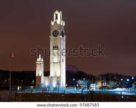The Great Big Ben of Old Montreal ( Night Scene ) #2