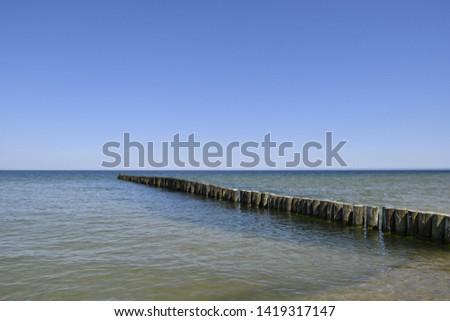 The great breakwater of Chalupy #1419317147
