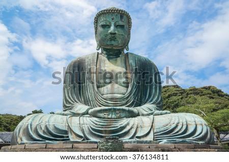 The Great Buddha Daibutsu in Tokyo,Japan