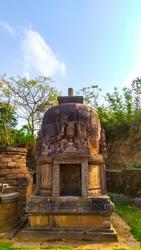 The Great Buddha Stupa located at hilltop of udayagiri, odisha near jajpur is the most important Buddhist monument build during the Mauryan period.odisha monuments, Bhubaneswar temple city