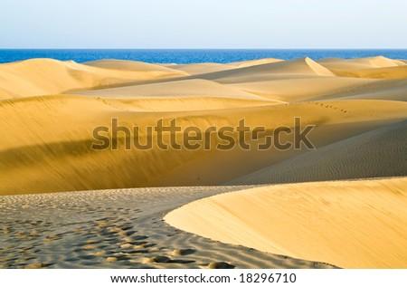 The great desert in Gran Canaria