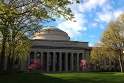 the Great Dome at MIT in spring, Cambridge, MA, USA