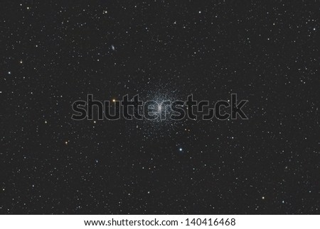 The Great Hercules Globular Star Cluster
