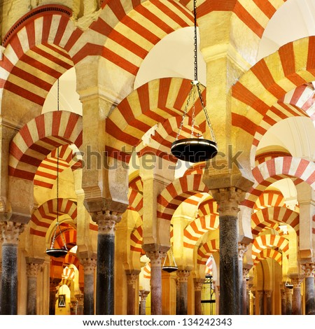 The Great Mosque of Cordoba (La Mezquita), Spain