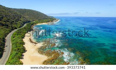 The Great Ocean Road coastline, Australia. #393373741