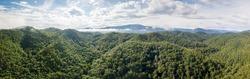 The Great Smoky Mountains Panorama