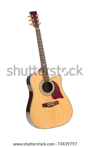 The great sound of acoustic guitar