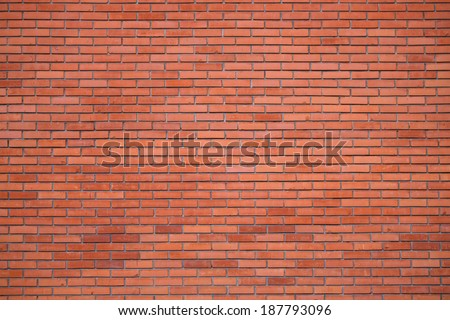 The Great Wall of red bricks