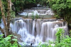 the great waterfall in Thailand