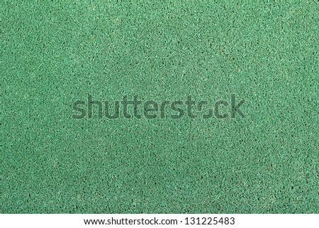 The green doormat with empty space for your text.