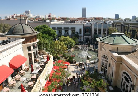 The Grove - Beautiful Outdoor Shopping Center
