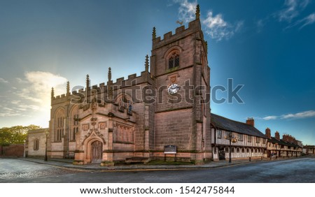 The Guild Chapel in Stratford-upon-Avon, United Kingdom - England.