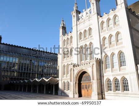 The Guildhall in the City of London